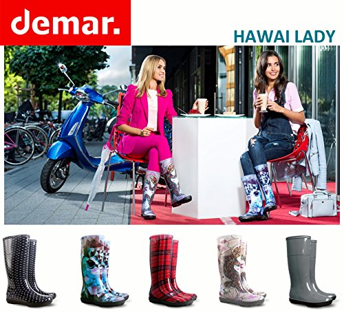 DemarAvenew - Wellingtons da lavoro donna Flowers