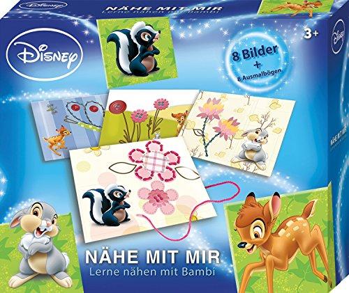 Lena 42638 - Bastelset Lernspiel Disney's Bambi Nähe mit mir