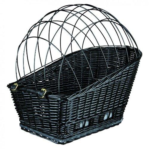 Trixie 13117 Fahrradkorb mit Gitter für Gepäckträger, 35 x 49 x 55 cm, schwarz - 2