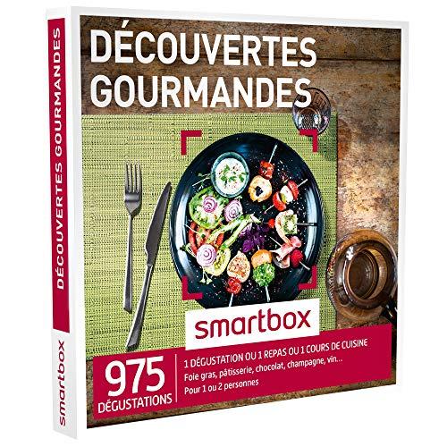 SMARTBOX - Coffret Cadeau - DÉCOUVERTES GOURMANDES - 975 dégustations : une...