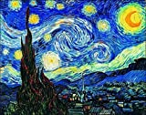 Migneco & Smith l'Affiche ILLUSTREE Van Gogh Notte Stellata Stampa Artistica in Offset su Carta patinata di Spessore gr.300 cm.120 x 90 cod.31077