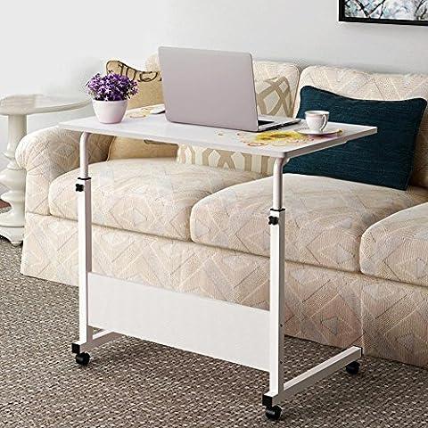 KHSKX Escritorio del ordenador portátil, escritorio de la computadora móvil de computadora de escritorio, mesita de elevación perezoso ,