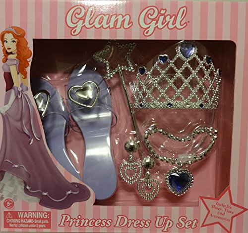 Kostüm Varys - Glam Girl Princess Dress Up Set (Colors Vary)