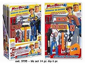 Rstoys - Ronchi Supe 3.st9795Blister Maxi Brico Multicolor