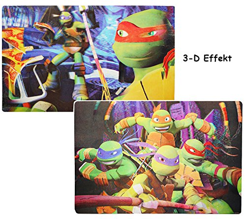 t Unterlage -  Teenage Mutant Ninja Turtles  - 42 cm * 29 cm - Tischunterlage / Platzdeckchen / Malunterlage / Knetunterlage / Eßunterlag.. ()