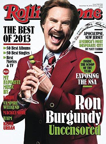 NE COVER POSTER – Ron Burgundy – U.S Music Wall Poster Print – 30CM X 43CM Brand New (Ron Burgundy Farbe)