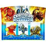 Skylanders - Triple Pack C: ChopChop, Bash, Eruptor