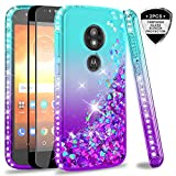 LeYi Case for Moto E5 Play with Tempered Glass Screen
