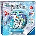 Ravensburger Puzzle Bola 3D | 72 Piezas | Disney Frozen Puzzle Ball de Ravensburger