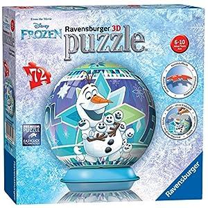 Ravensburger Disney Frozen, Puzzle 3D de 72 Piezas