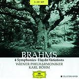 Brahms: 4 Symphonies; Haydn Variations (3 CD's)