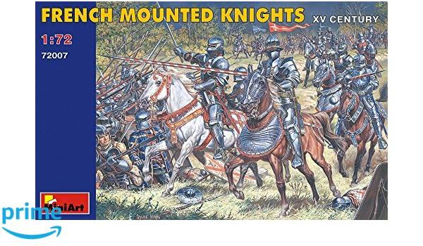 Miniart 72007-1:72 Französische Ritter zu Pferd XV Jhdt.
