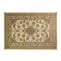 Flair Rugs Sincerity Sherbourne Antique Design Oblong Floor Rug (160cm x 230cm) (Beige)