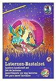 Laternen Bastelset Easy Line Baby Pegasus und Einhorn, ca. 21, 8 x 21 x 10, 3 cm