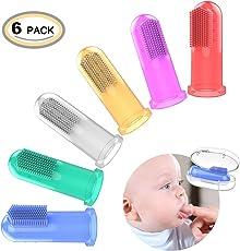 OZUAR 6 Stück Baby Fingerzahnbürste
