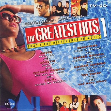 Queen Greatest Hits 2 - The Greatest Hits 1 - 1991 -