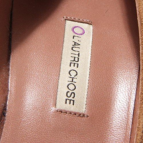 83387 decollete L'AUTRE CHOSE scarpa donna shoes women MARRONCINO