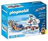 Playmobil- Trineo de Huskys, única (9057)