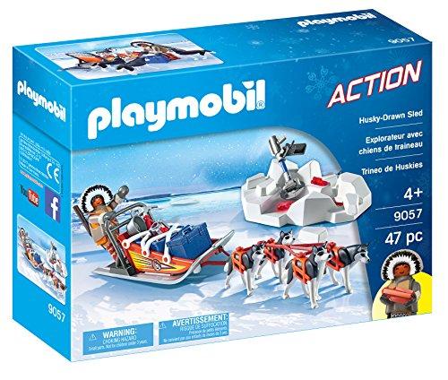 Playmobil Trineo de Huskys, única (9057)