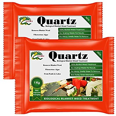 Pond Blanket Weed Treatment HYDRA QUARTZ +Rapid Action +Immediate Results