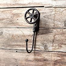 cnmdgbwy creativa viento industrial retro Tieyi enlace abrigo gancho habitación Póster Mural de tienda ...