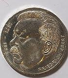 BRD (BR.Deutschland) Jägernr: 416 1975 J Stgl./unzirkuliert Silber 1975 5 DM Ebert (Münzen für Sammler)