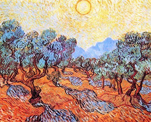 Das Museum Outlet-Olive Grove by Van Gogh-A3Poster Modigliani Olive