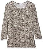 Gina Laura Große Größen Damen Sweatshirt Shirt Relaxed mit Falte am Ausschnitt, Gummizug am Saum, Rot (Beere 83), XX-Large