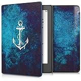 kwmobile Funda para Kobo Aura H2O Edition 2 - eReader Case de cuero sintético - Con tapa E-book...