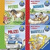 Ravensburger Mini-Bilderspaß 70 - Wieso? Weshalb? Warum? Nr. 9 (4er-Set)