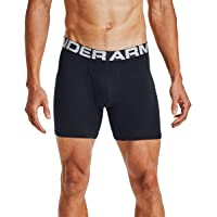Under Armour Men's Charged Cotton 6-inch Boxerjock 3-Pack