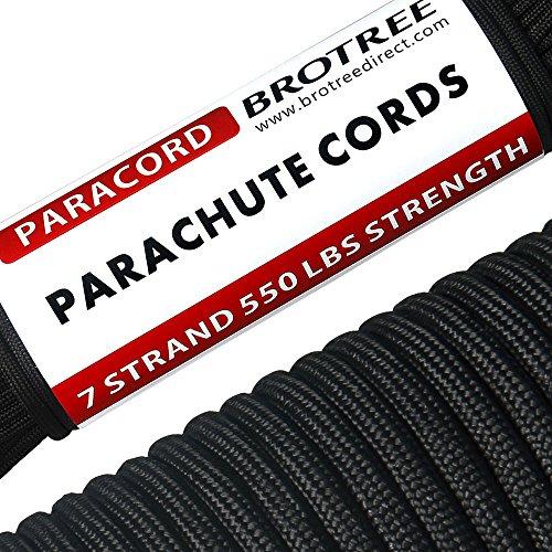 Brotree 30m Paracord Cuerda Paracaídas Nylon 550