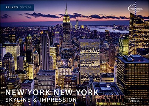 NEW YORK NEW YORK - Edition Zeitlos by Bernhard Hartmann - immerwährendes Kalendarium - USA - Big Apple- Empire State Building - Fotokunst Kalender 70 x 50 - Partnerlink