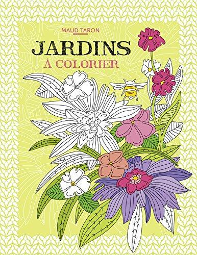 Jardins à colorier par Maud Taron