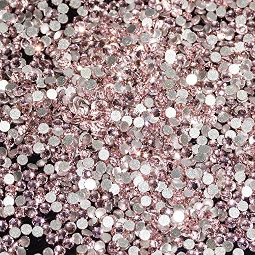 1440 strass en cristal Light Rose SS6 strass rose clair