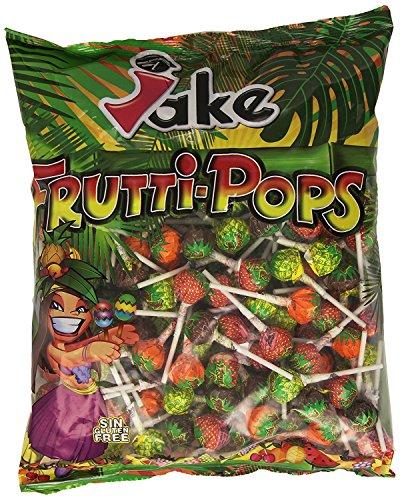 Jake - Frutti-Pops - Lecca-lecca - 200 unità per sacchetto
