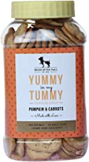 HUFT Yummy in My Tummy Dog Biscuit - Pumpkin & Carrots - 320 GMS