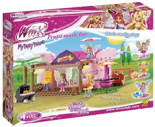 Winx - Frutti Music Bar, playset, Color Rosa (COBI 25400)