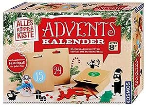 KOSMOS 604295 - Basteln Adventskalender 2017
