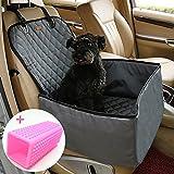 Coprisedile per cane, Lemonda coprisedile anteriore singolo, Coperta telo per proteggere sedile di automobile per animali domestici, coprisedile antiscivolo ed impermeabile (Grigio)