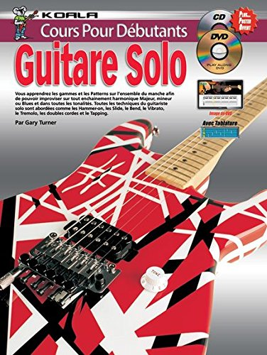 Course For Beginners: Solo Guitar (Book/CD/DVD)