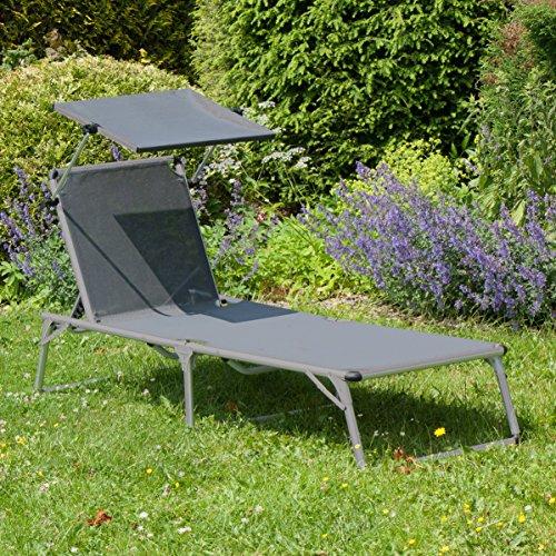 Ultranatura Aluminium Sonnenliege Gartenliege - 7