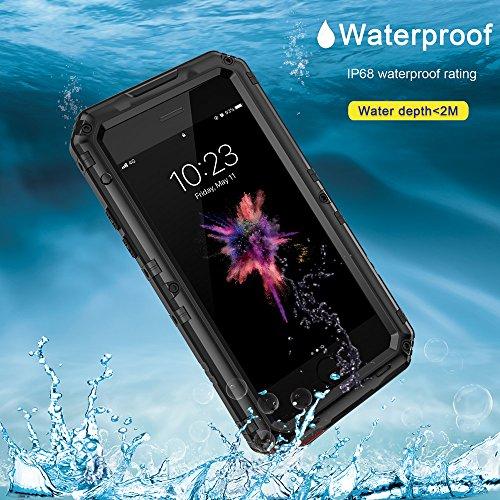 seacosmo Cover iPhone XR [Waterproof] Custodia Impermeabile Corpo