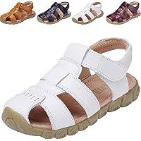 DADAWEN Mixte Enfant Leather Oxford Sandale(Garçon/Fille/Bébé)