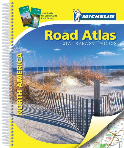 Atlas routier North America USA, Canada, Mexico par Collectif Michelin