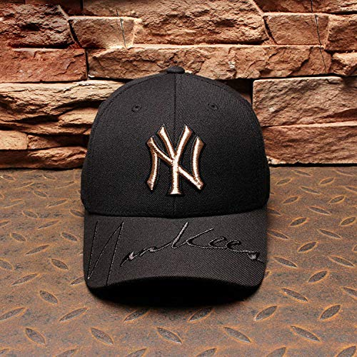 mlpnko New Baseball Cap Männer und Frauen Cap Gold Standard Yankees Hut Hip Hop Sport Hut Schwarz - Van Gogh Kostüm Kinder