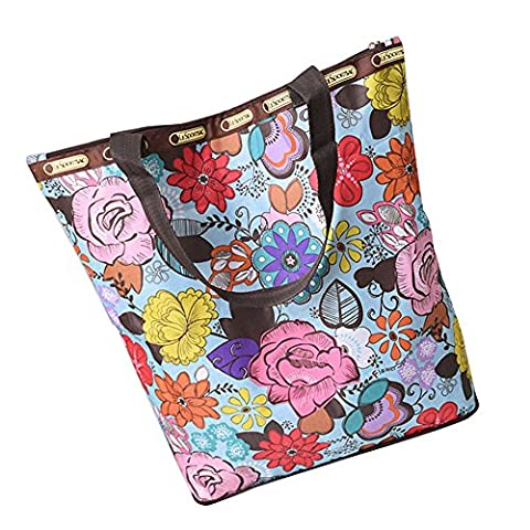 Women's Shoulder Bags, OverDose Canvas Tote Shopping Bags (39 x 13 x 41cm, A03)