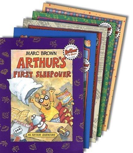 oks (12) : Arthur's Nose; Arthur's Thanksgiving; Arthur's Christmas; Arthur's Halloween; Arthur & the True Francine; Arthur's Valentine; Arthur Writes a Story; Arthur's Chicken Pox; April Fools; Arthur's Teacher Trouble (Popular Children Series: Arthur by Marc Brown) by Marc Brown (2005-05-04) ()