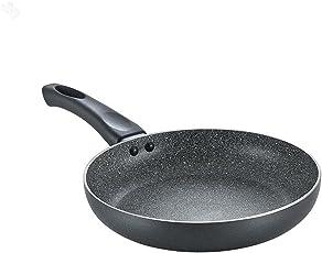 Prestige Omega Deluxe Granite Fry Pan, 280mm, Black (36306)