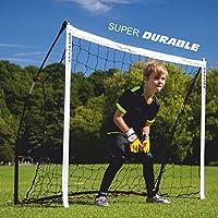 QUICKPLAY Kickster Academy Porteria de Futbol (1.8 x 1.2m / 6x4')